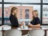 2 Corporate Culture Lifestyle Photography Two Ladies Large Window