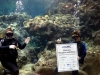 Corporate-Event-Underwater-Divers-With-Sign