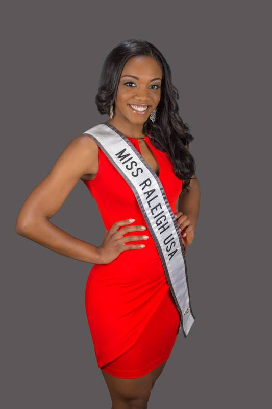 Miss Raleigh USA Markisha Thomas