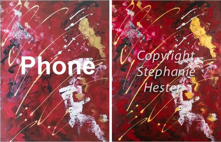 Stephanie Hester Before and After Art