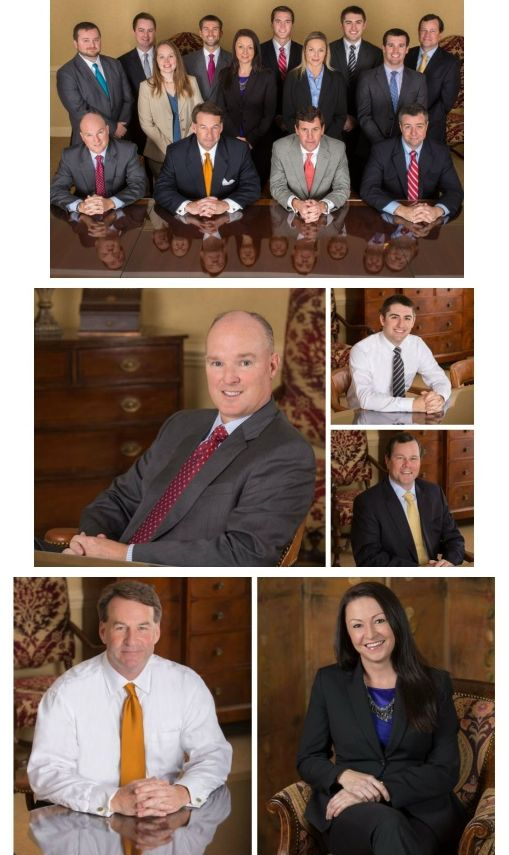 Collage of Commercial Photography of Executives In Raleigh NC