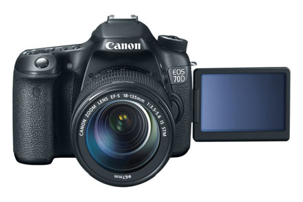 Canon 70D with 18-135mm Lens