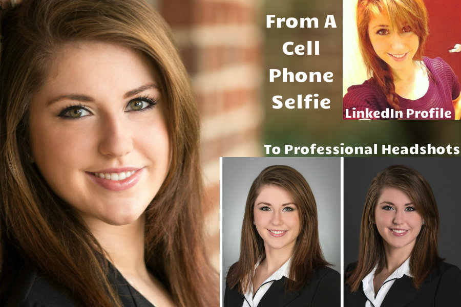 Before With LinkedIn Selfie To Professional Headshots On LinkedIn
