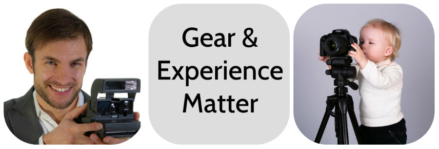 Gear and Experience Matter