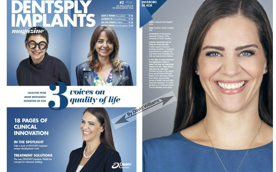 Editorial Photography Magazine Cover and Interior Page Dental 2