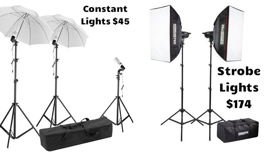 Constant vs. Strobe Lighting
