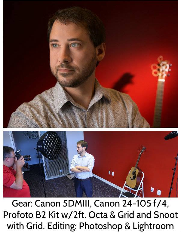 Profoto B2 Lighting with Canon 5D Mark III