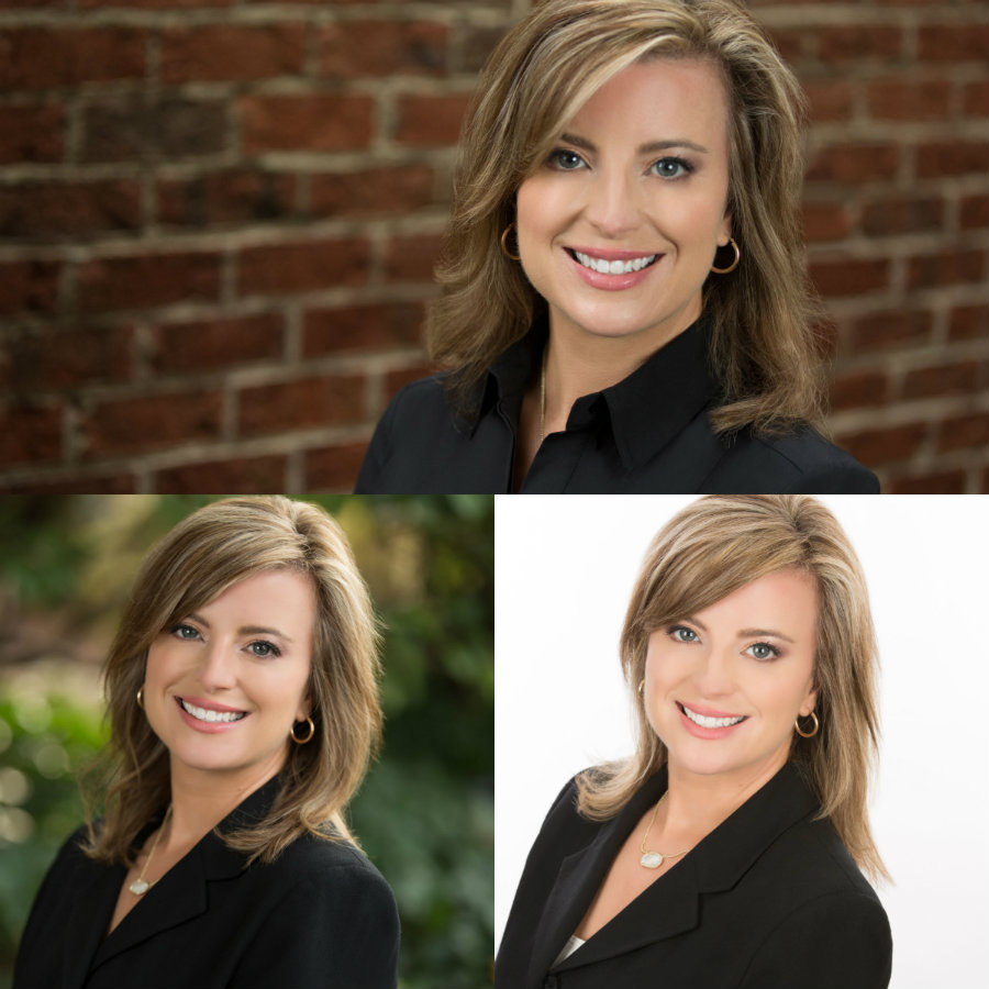 Indoor and Outdoor Headshots At North Raleigh Photo Studio